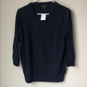 Navy J. Crew Tippi sweater